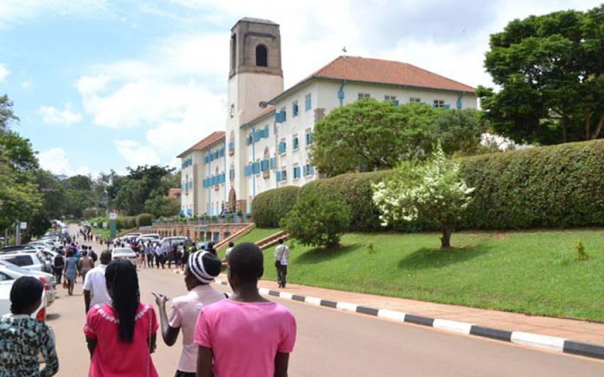 MDG : The Senate Building at Makerere University, Kampala, Uganda